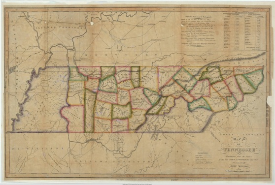 map_of_tennessee_1818